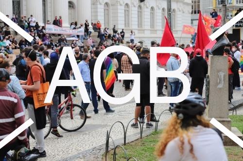 Protesto contra Bolsonaro